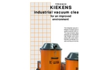 Dynamic / Giant - Model KD-KG Series - Industrial Vacuum Cleaners - Brochure