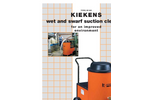 Kiekens - Model KS/KV - High Vacuum Filter Systems - Brochure