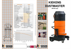 Dustmaster - Model DM1200 - Industrial Dedusting Filter - Brochure