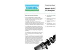 Codel - Model 1010 - Single Channel Cross Duct CO Gas Analyser - Datasheet