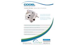 Codel TunnelTech 305 Air Flow Monitor - Datasheet