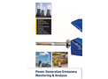 Power Plant & Power Station Emissions Monitoring -  Brochure