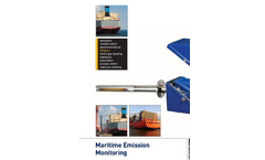 Marine And Offshore Emissions Monitoring & Analysis - Brochure