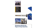 Paper & Pulp Industry Emissions Monitoring - Brochure