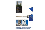 Cement & Lime Industry Emissions Analysis & Monitoring - Brochure