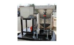 Hydro Quip - Chemical/Physical Inclined Plate Clarifier with Mix & Flocc Tank