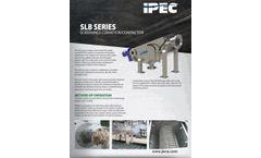 IPEC Model SLB - Screening Conveyor Compactor - Brochure