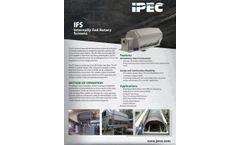 IPEC Model IFS - Internally-fed Rotary Screens - Brochure