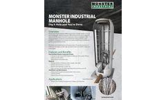 Monster Industrial Manhole - Brochure