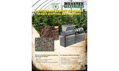 Meet Marijuana Waste Disposal Regulations - Brochure