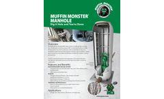 Muffin Monster - Pre-Fabricated Sewer Manhole - Data sheet