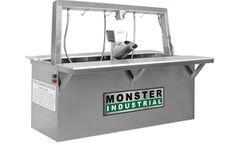 Monster - Industrial Stainless Steel Fish Cleaning Stations