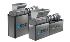 JWC - Model 3-Shred, 3-Shred-2, 4-Shred-2 - Industrial Shredders and Waste Grinders
