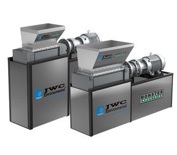 JWC - Model 3-Shred, 3-Shred-2, 4-Shred-2 - Industrial Shredders and Waste Grinders