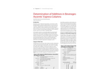 Determination of Additives in Beverages Using Ascentis® Express Columns