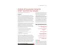 Analysis of Isocyanates Using the ASSET™ EZ4-NCO Dry Sampler