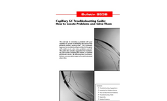 Capillary GC Troubleshooting Guide