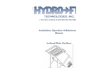 Stinger - Model LS Series - Inclined Plate Clarifiers Manual