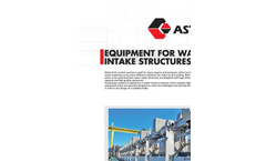 ASTIM - Water Intake Structure Equipment - Brochure
