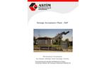 ASTIM - Model SAP - Sewage Acceptance Plant - Brochure
