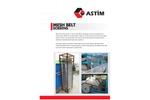 ASTIM - Model BND - BNC - BNT - Mesh Belt Screen - Brochure
