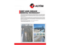 ASTIM - Grit and Grease Removal Technology - Brochure