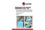 Package Type Sewage Treatment Plant - ARP - Brochure