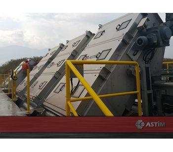ASTIM - Model PPS - Perforated Belt Screens