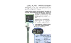Intrinsically Safe Liquid Level Alarm Brochure