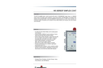 Model WS1P-TP - Single Phase Simplex Control Panel Brochure
