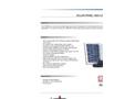 Model CP1003 - Solar Power High Liquid Alarm Brochure