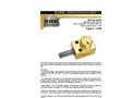 Kirk-Key - Model SD Series Type F - Flat Mounted Interlock - Brochure