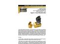 Kirk - Model MD Series Type D - Door Mounted (Detachable) Interlock - Brochure