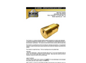 KIRK - Model Camlock - Compact, Threaded Cylinder Interlock - Brochure