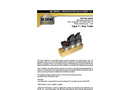 KIRK - Model MD Series Type T - Medium Duty - Key Transfer Block - Brochure