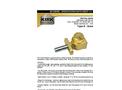 KIRK - Model SD Series Type B - Base Mounted Interlock - Brochure