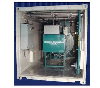 ACS - Model PC-Series - Portable Containerized Incinerator