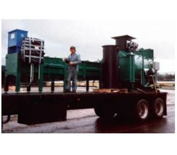 Advanced Control Systems - Model MIS-Series - Controlled Air Portable Incinerator