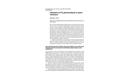 Utilization of TiO2 photocatalysts in green chemistry (PDF 1.75 MB)