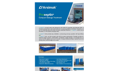 Compact Domestic Wastewater Treatment Systems Brochure