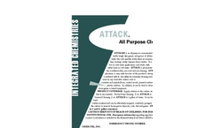 ATTACK - All Purpose Cleaner - Brochure