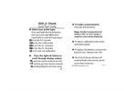 ECH2O Check - Quick Start Guide Brochure