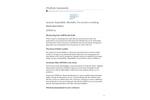 Atmos - Model 22 - Ultrasonic Anemometer - Datasheet