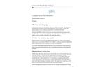 Meter PARIO - Automated Particle Size Analysis - Datasheet