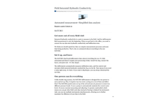 Saturod - Field Saturated Hydraulic Conductivity - Datasheet