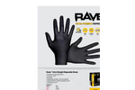 SAS - Model Raven™ - Extra Strength Disposable Gloves - Brochure