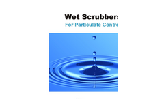 Wet Scrubbers for Particulate Control Brochure