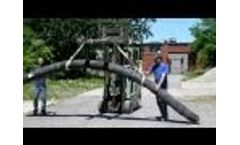 Tire Log New Green Building Material Video