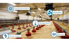 Remote environmental monitoring systems  for livestock