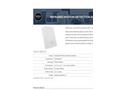 Model FGD-0007 - Infrared Motion Detection Sensor Brochure